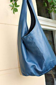Schicke Tasche - kostenloses Schnittmuster + Tutor... - #kostenloses #schicke #Schnittmuster #Tasche #Tutor
