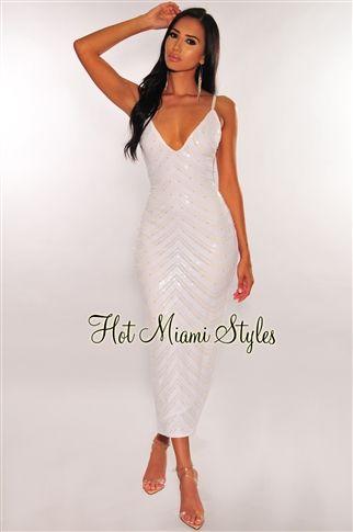 10++ White sequin dress ideas in 2021