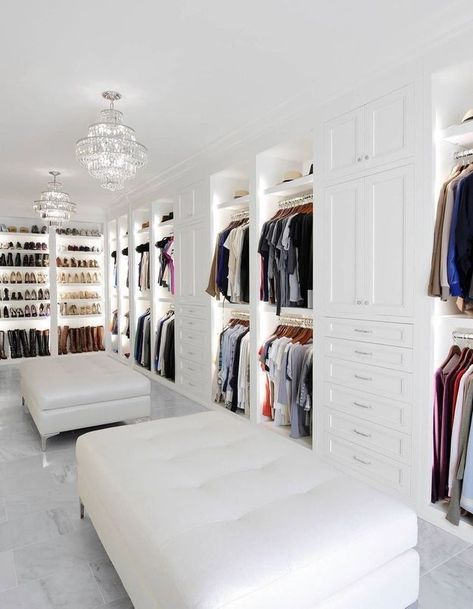 46 Dream Walk In Closet Designs For Organized Home – – Dream House Dream House Interior, Luxury Homes Dream Houses, Dream Home Design, Home Interior Design, Modern Mansion Interior, Marble Interior, Dream Beach Houses, Modern Architecture House, Design Interiors