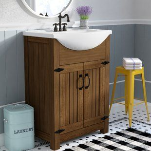 Wayfair Com Online Home Store For Furniture Decor Outdoors More Wood Bathroom Vanity Single Vanity Modern Bathroom Vanity