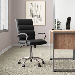 Esser Desk In 2020 Executive Chair Home Office Layouts Modern Office Chair