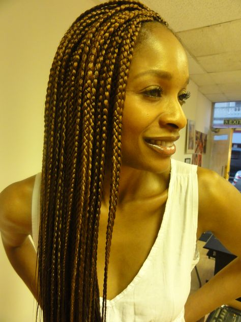 individual braiding styles | Step by step guide to designing Single box braids » DSC07817
