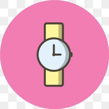 2020 的 Vector Watch Icon Clock Time Watch Png And Vector With