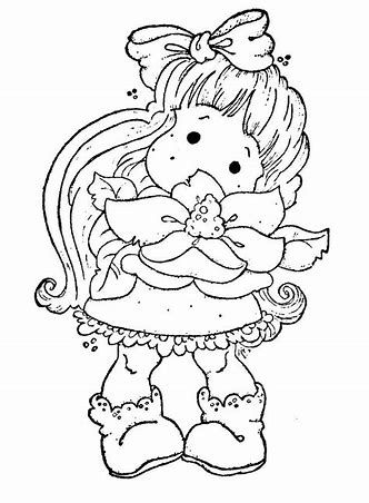 Yulan Magnolia Coloring Page For Adult Adult Colouring Page
