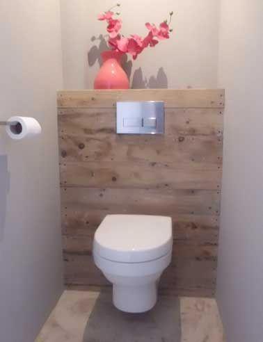 Une Deco De Wc Soignee C Est Une Bonne Idee Pour Embellir Le Coin Toilette Souvent Oublie En Decoratio Kleines Badezimmer Umgestalten Wc Design Bad Inspiration