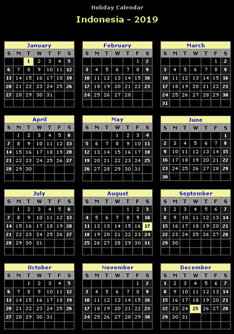 november 2018 calendar indonesia calendar indonesia november