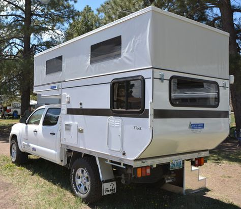 2013 Four Wheel Camper Fleet Flatbed Toyota Camper Camper Pop