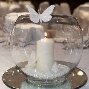 Multi Purpose Fish Bowls Ornaments Decorative Candle Holders Vases Bargain Ebay Wedding Table Wedding Centerpieces Wedding Decorations