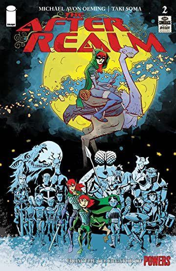 The After Realm 2 Image Comics Comic Book Covers Comic Covers