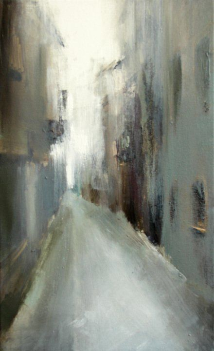 "Xanthippe Tsalimi - ""Segovia"", 2008, oil on canvas"