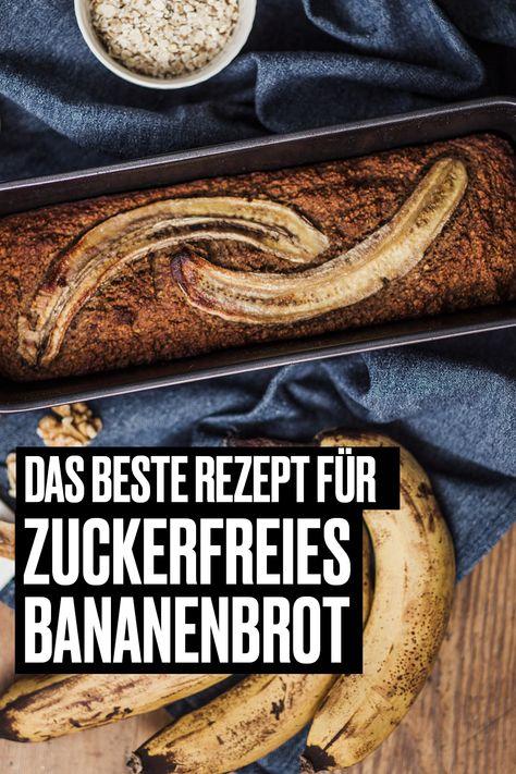 Zuckerfreies Bananenbrot