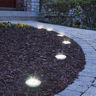 The Solar Led Landscape Lights Landscape Lighting Design Landscape Lighting Easy Landscaping