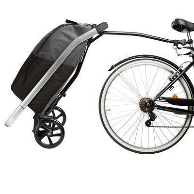 factory outlet ever popular save up to 80% Cycle_Accessoires Vélos, Cyclisme - TROLLEY VELO 500 BCLIP B ...