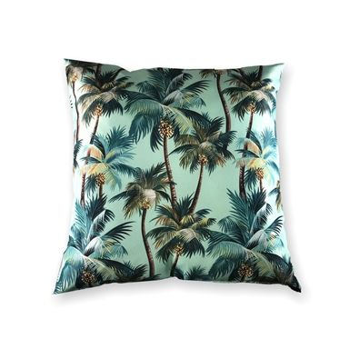 Mojo 60cm La Palm Blue Outdoor Cushion Cover In 2020 Outdoor