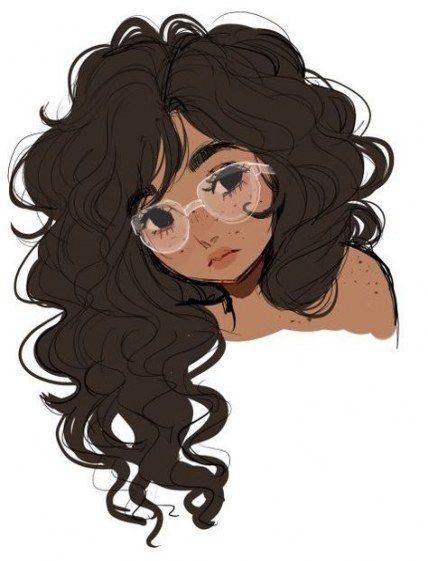 64 Ideas Hair Drawing Cartoon Short Curly Hair Cartoon Cartoon Artist How To Draw Hair