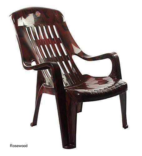 Furniture Dealz Cello Comfort Relax Plastic Chair Standard Size Rosewood Colour Furniture Dealz In 2020 Plastic Chair Stool Chair Chair Price