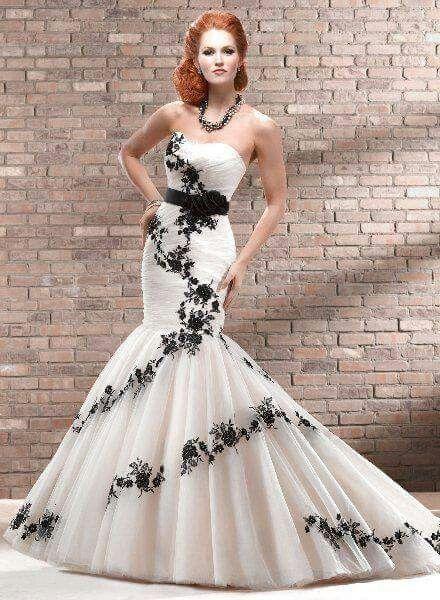 Vestido de novia negro que significa