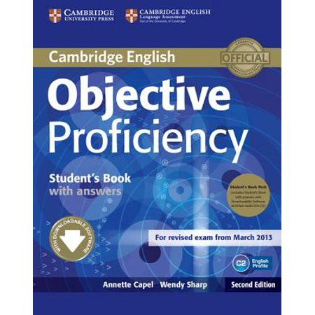 Objective Proficiency Student S Book Pack Student S Book With Answers With Downloadable Software And Class Audio Cds 2 Walmart Com In 2021 Cambridge English Student Cambridge