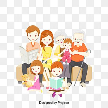 Cartoon Happy Family Design Pattern Family Cartoon Hand Painted Png Transparent Clipart Image And Psd File For Free Download In 2021 Family Cartoon Family Clipart Cartoon Clip Art