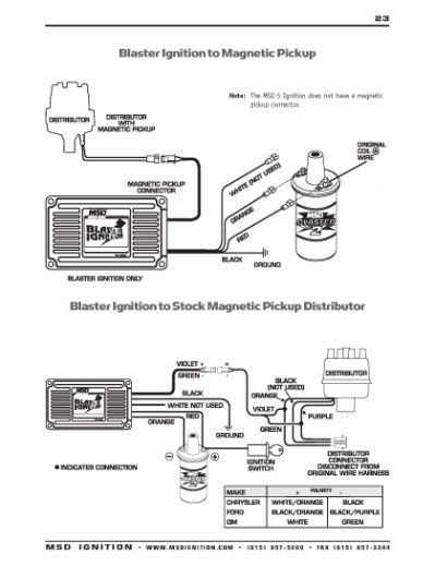 Mallory Hei Wiring Diagram Chevy on