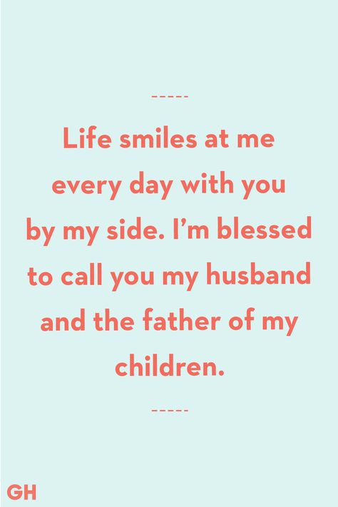 Father's Day Quotes From Wife Blessed To Call You Husband