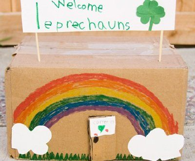 St. Patrick's Day Leprechaun hotel featured on Inchmark -- such a great idea!