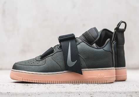 Nikes Strapped Air Force 1 Utility Is Coming Soon In Olive And Gum