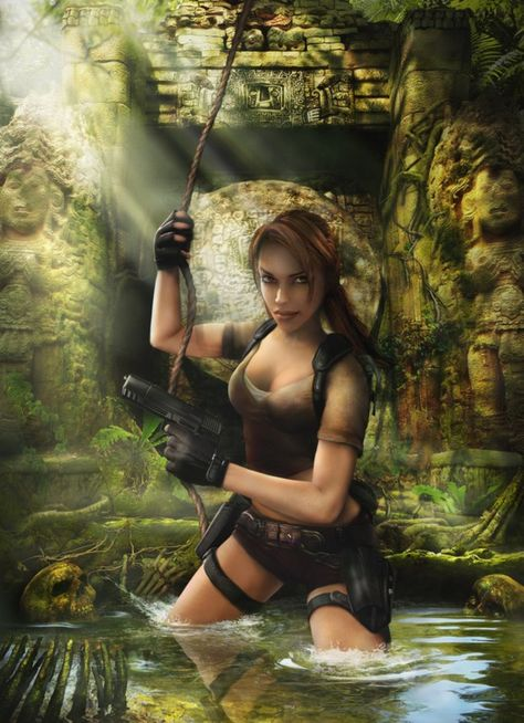 lara croft tomb raider | Lara Croft-tomb raider - galerie d'image