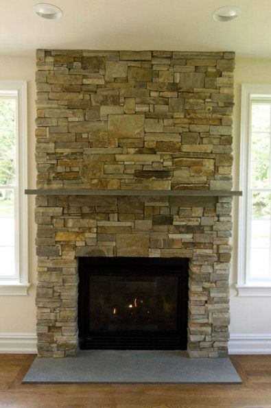 Fireplace Insert Installation Gas Electric And Wood Burning Fireplaces Stone Veneer Fireplace Fireplace Remodel Stone Fireplace Surround