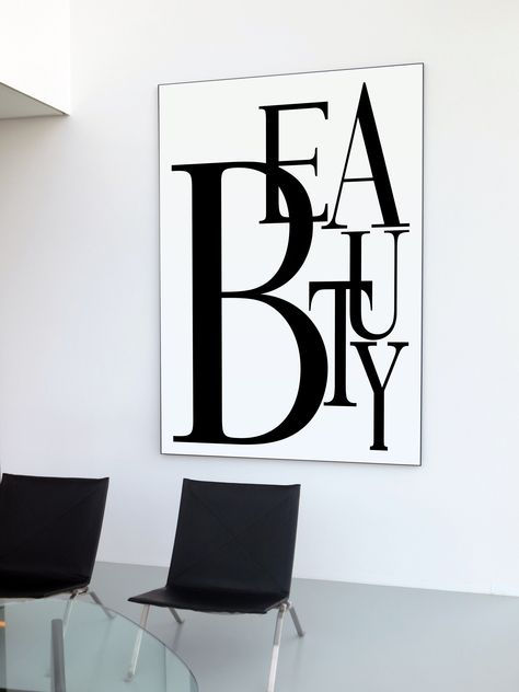 Black And White Office, Black And White Wall Art, Fashion Wall Art, Fashion Prints, Fashion Decor, Enough Is Enough Quotes, Restaurant Logo, Fashion Typography, Bedroom Art