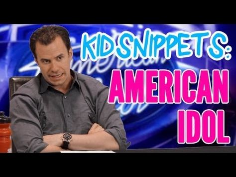 """Kid Snippets: """"American Idol"""" (Imagined by Kids)"""