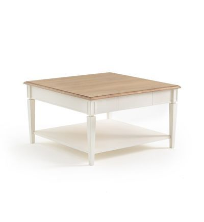 Table Basse Carree Adelia In 2020 Coffee Table Images Decorating Coffee Tables White Gloss Coffee Table
