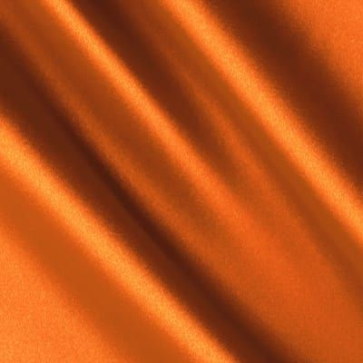 Silky Satin Charmeuse Solid Dark Orange In 2020 Orange Aesthetic Orange Wallpaper Orange Fabric