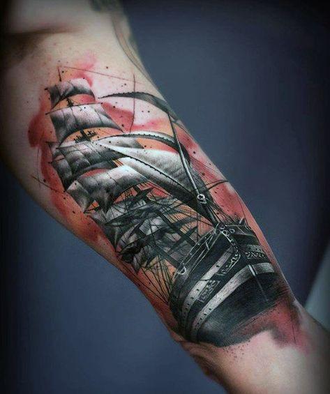 70 Viertel Sleeve Tattoo Designs für Männer - Männliche Tinte Ideen