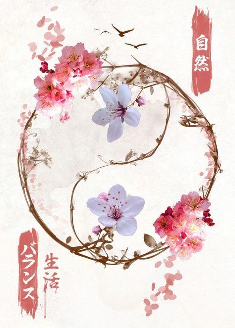 42++ Tatouage ying yang fleur ideas in 2021