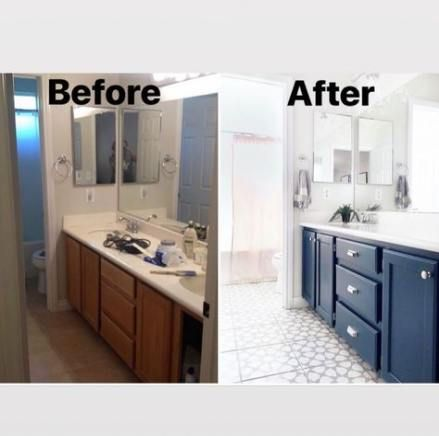 Super Bath Room Vanity Ideas Color Ideas In 2020 Diy Bathroom Vanity Painted Vanity Bathroom Blue Bathroom Vanity
