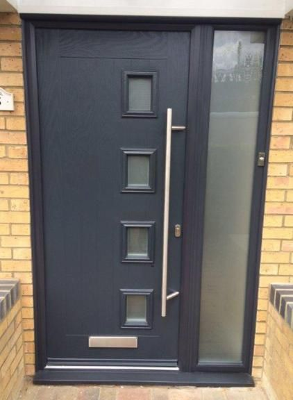 Anthracite Grey Composite Door With