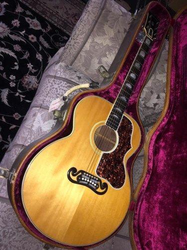 1938 Gibson De Luxe Jumbo Sj 200 Natural 60 000 00 Guitar Guitar Design Gibson Guitars