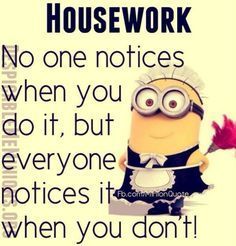 Housekeeping Quotes Alluring 33 So Funny Minion Quotes And Pictures   Funny Minion Jealous And . Inspiration Design