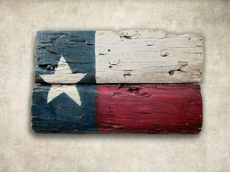 Rustic Texas Wall Decor Art made from reclaimed wood. $15.00, via Etsy.