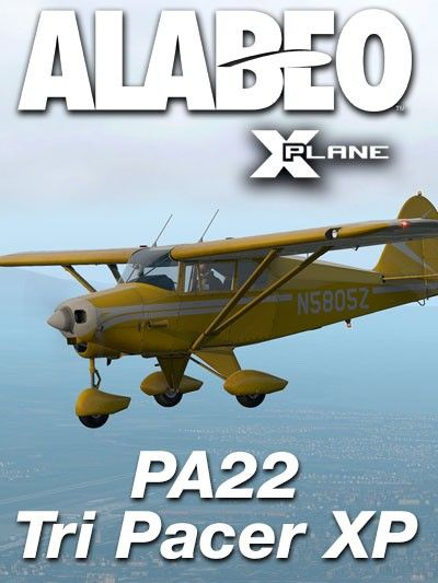 ALABEO : PA22 Tri Pacer XP Features Custom sounds Full