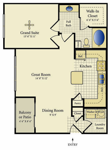 Luxury 1 2 3 Bedroom Townhomes Apartments In Pearland Tx House Floor Plans Floor Plans Townhouse