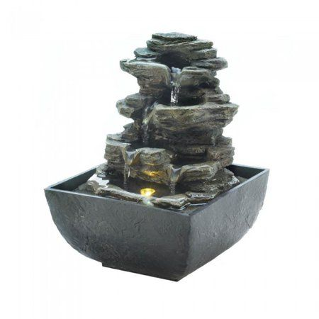 Patio Garden Tabletop Water Fountain Tabletop Fountain