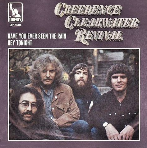 Creedence Clearwater Revival - Have You Ever Seen The Rain (1971) 歌詞 lyrics《經典老歌線上聽》