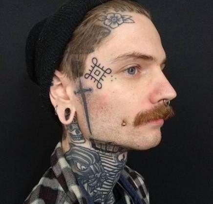 Tatuajes En La Cara Chicos
