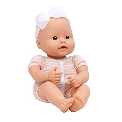 Baby Sweetheart By Battat Bath Time 12 Inch Soft Body Newborn Baby Doll With Easy To Read Story Book And Newborn Baby Dolls Baby Doll Accessories Baby Dolls