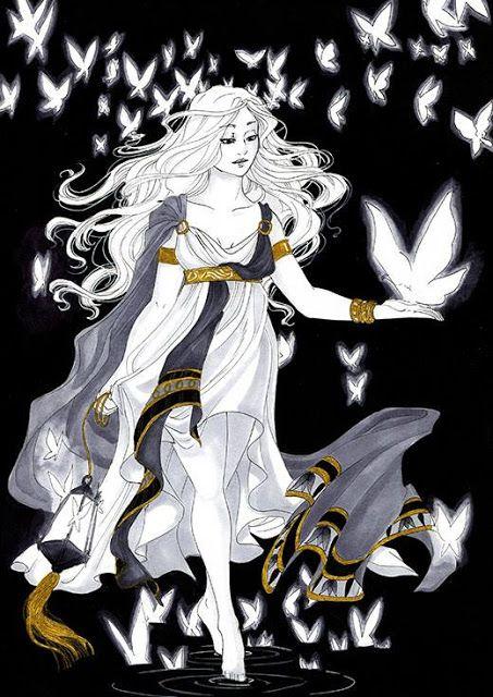 Macaria Neithy Greek Mythology Art Greek Goddess Art