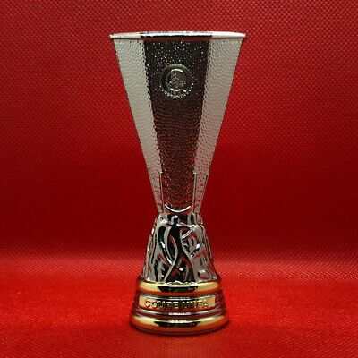uefa europa league trophy 3d replica 100 mm official licensed product in 2020 trophy champions league trophy europa league pinterest
