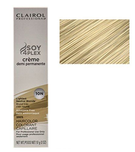 Clairol Professional Premium Creme Demi Hair Color 10n Lightest Neutral Blonde Pack Of 1 Read More At The Imag Hair Color Demi Hair Color Neutral Blonde