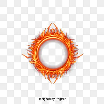 Hot Fire Flower Phone Wallpaper Photo Frame Design Frame Border Design